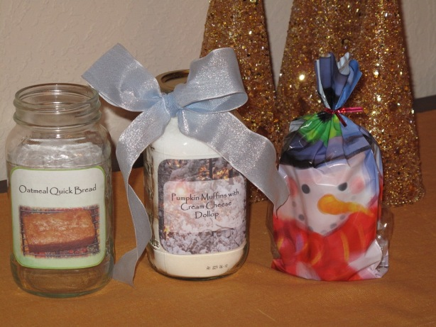 Jar recipes gift directions