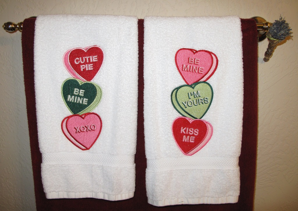 machine embroidery designs for towels