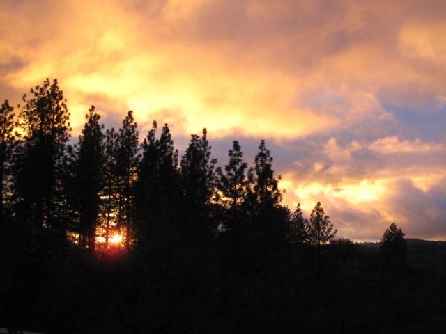 Sunset, Murphys CA