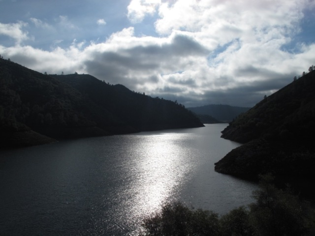 New Melones Resevoir from Parrot's Ferry Bridge