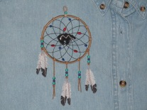 Embroidered Dream Catcher shirt