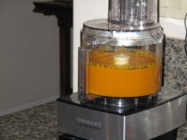Puree the pumpkin smooth