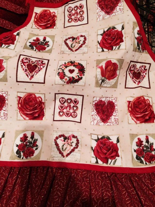 Makower UK fabric apron