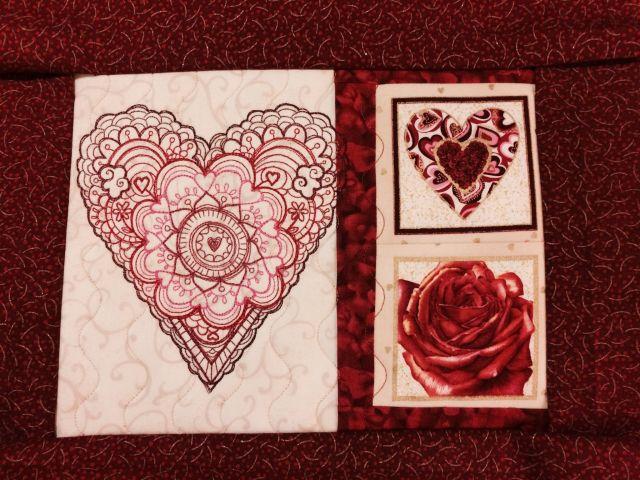 UT Heart mat wip
