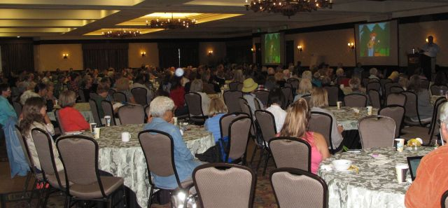Heims at UC Master Gardener Conference