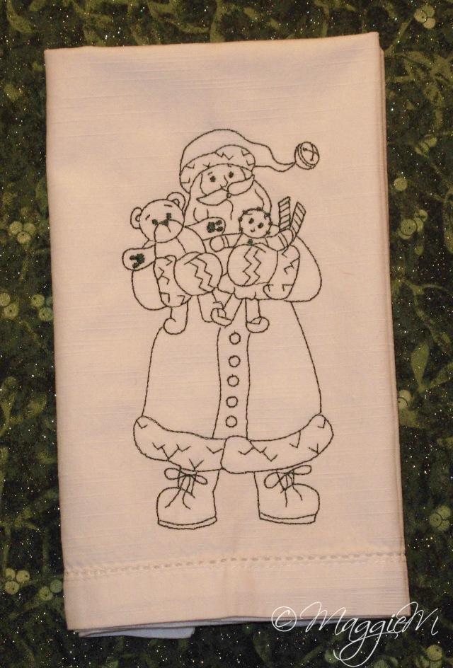 Santa bear napkins (1)