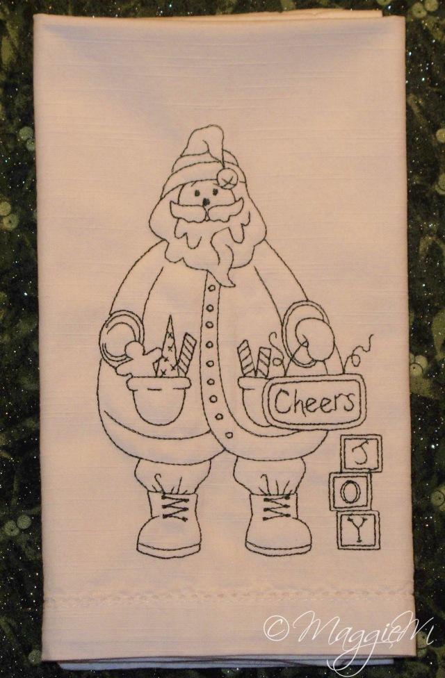 Santa Joy napkin (1)