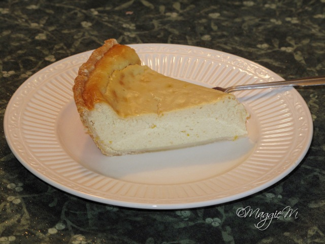 pie slice ricotta